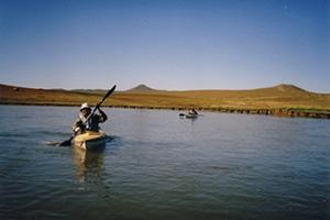 モンゴル5日間 大草原で乗馬・川下り