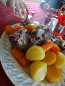 モンゴル料理ホルホグ