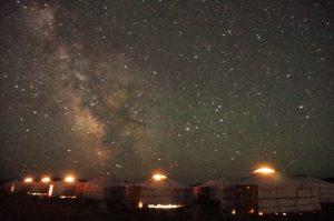 ウンドゥルシレット星空