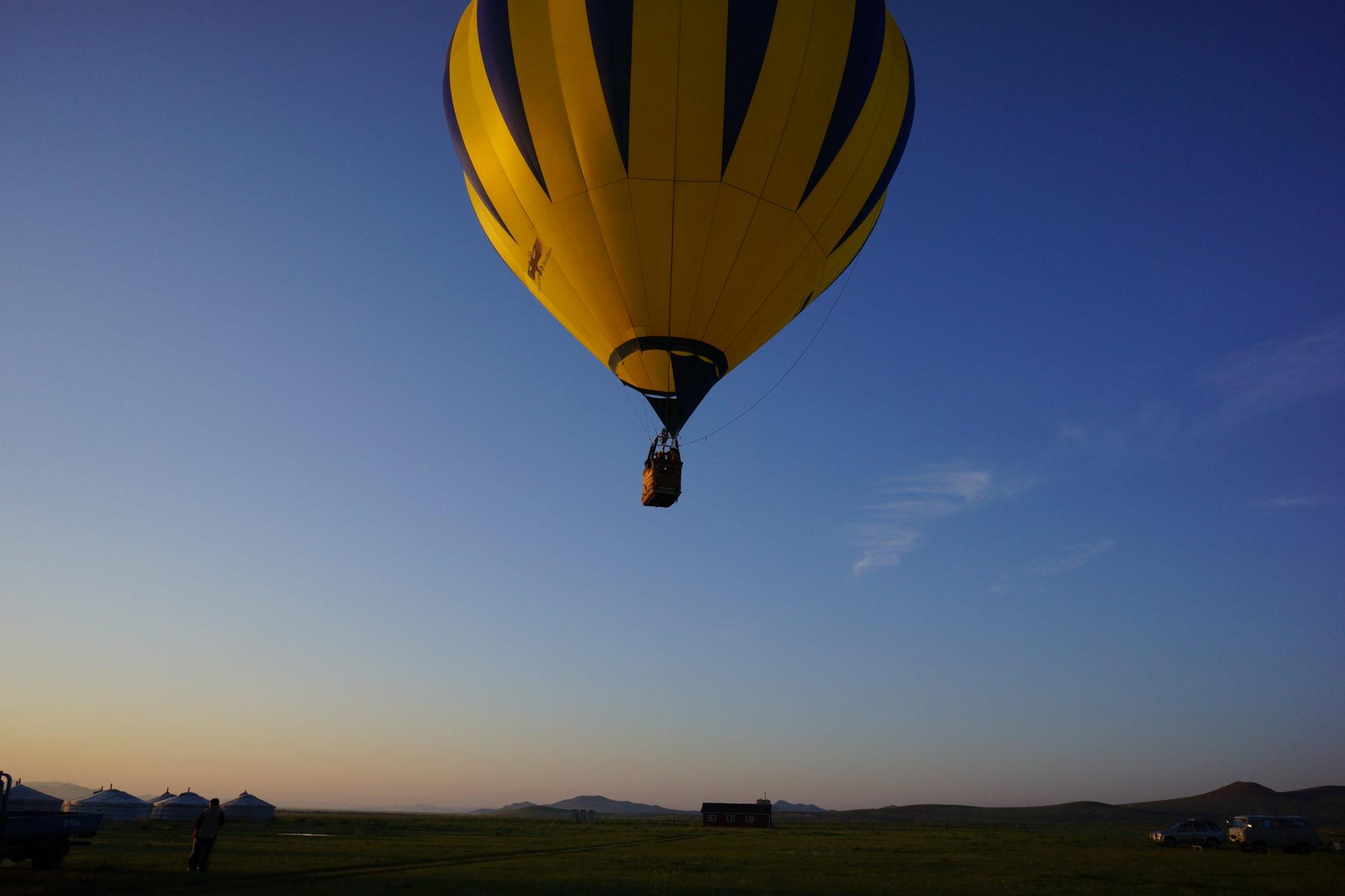 モンゴル6日間 大草原で乗馬・熱気球とカラコルム観光